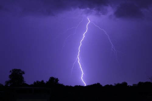 lightning  storm  weather