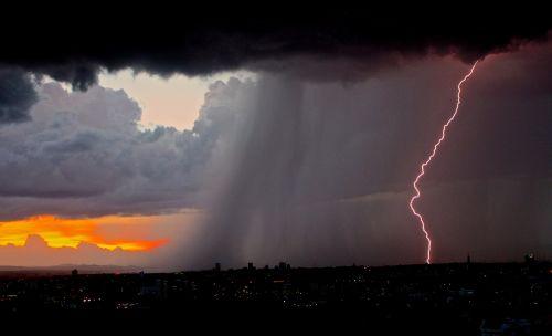 lightning lightning bolt thunderstorm