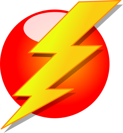 lightning bolt thunderstorm lightning