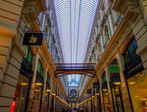 lights  passage  architecture