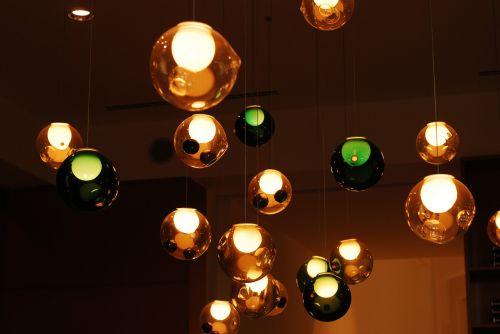 lights colors orb