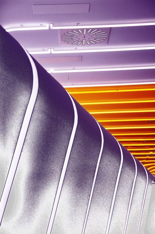 lights graphically purple