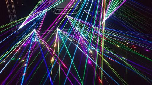 lightshow laser music festival