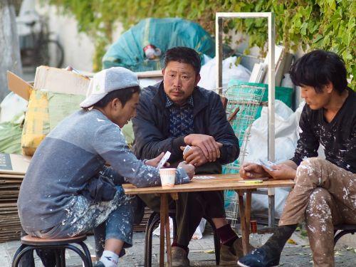 workers lijiang men