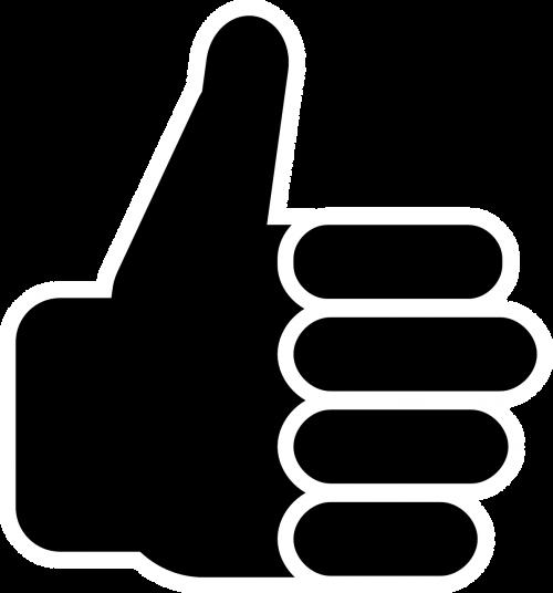 like thumb up hand