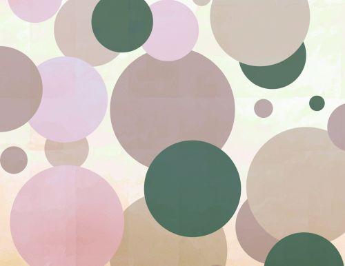 Lila Big Green Dots