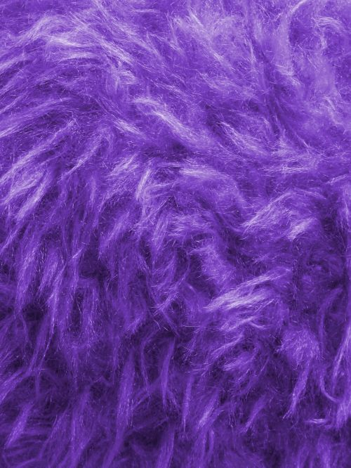Lilac Thick Furry Background