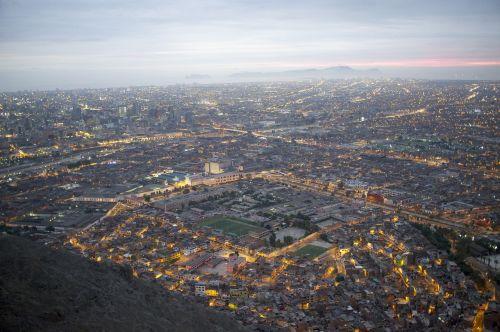 lima cityscape city