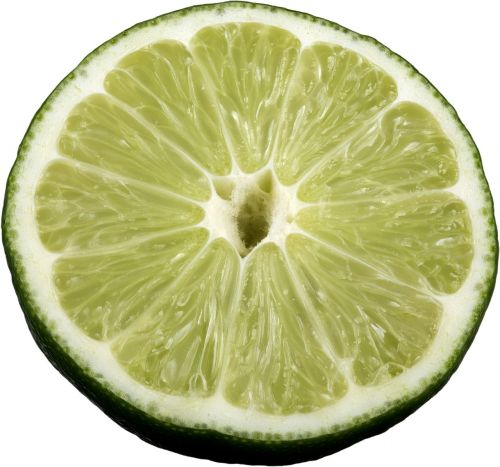 lime sliced sliced lime