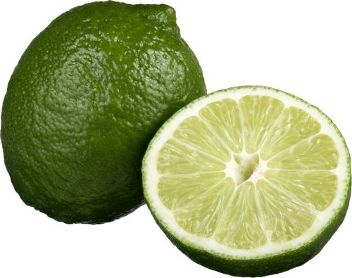 lime sliced lime fresh