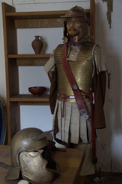 lime museum aalen roman soldier