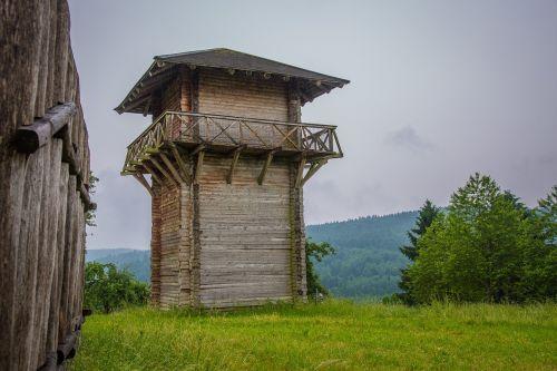 limes romans castle tower