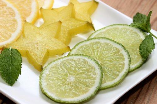 limone  lime  star fruit
