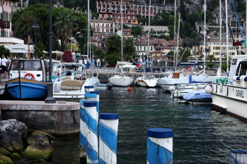 limone sul garde port lake garda