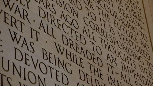 lincoln memorial lincoln speech