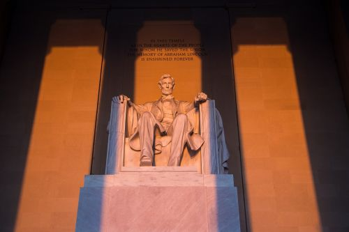 lincoln memorial washington d abraham lincoln