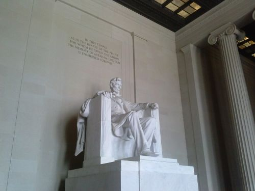 lincoln memorial abraham lincoln washington dc