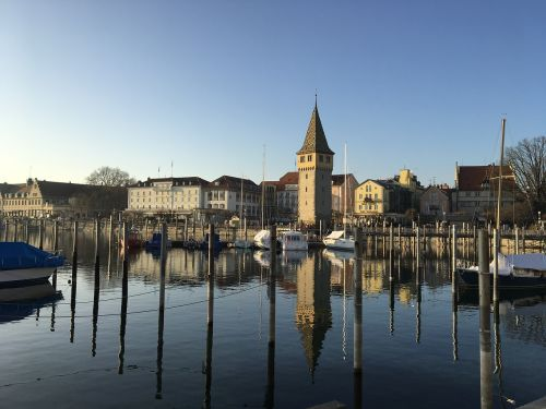 lindau lake constance port