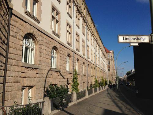 Linden gatvė,Berlynas,prekių ženklų biuras,patentų biuras,fasadas,istoriškai,pastatas