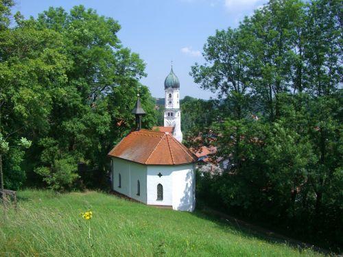 linden way zinkenbuechelkapelle steeple