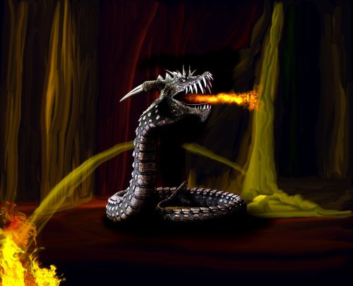 lindwurm dragon fire