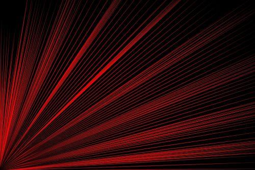 line geometric red
