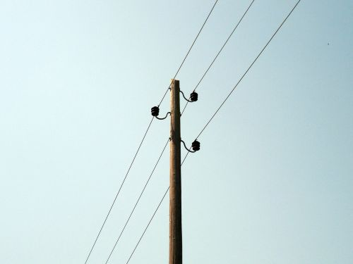 line power line power poles