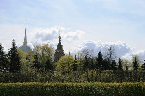 Line Of Trees, Peterhof