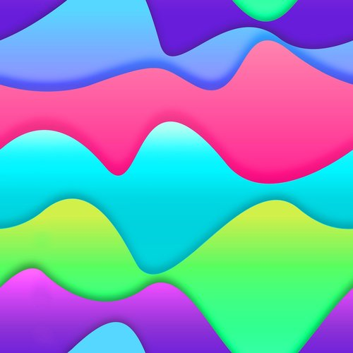 lines curves  colors  geometric