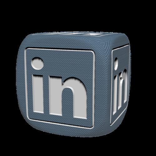 linkedin socialmedia cube