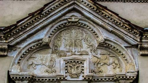 lintel engraved old