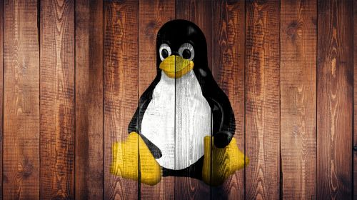 linux laptop screen