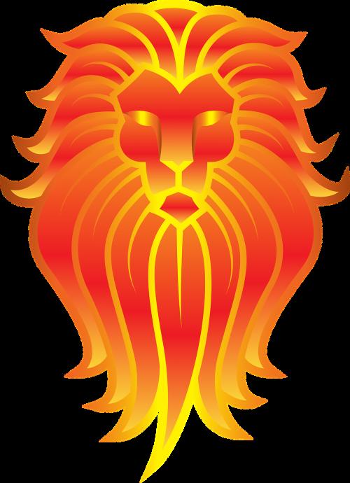 lion animal art