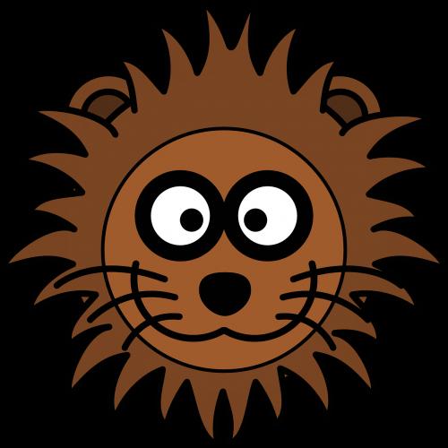 lion head cat