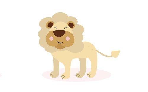 lion  cute  sketch