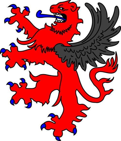 lion winged griffin