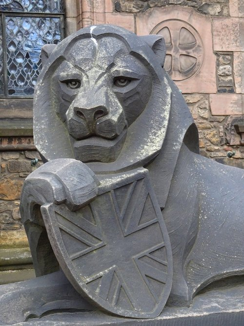lion  scotland  edinburgh