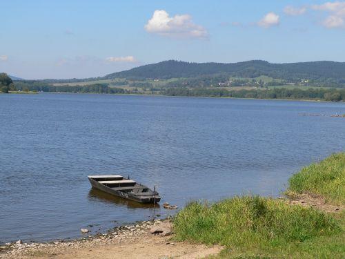 lipno lake water lake