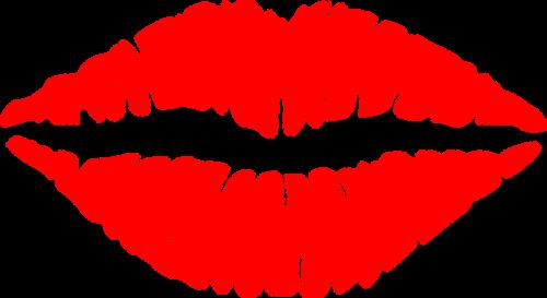 lips mouth kiss