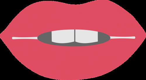 lips open mouth