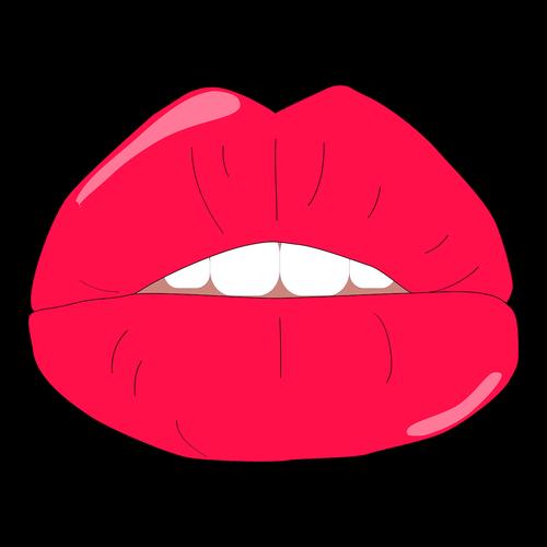 lips  pout  kiss