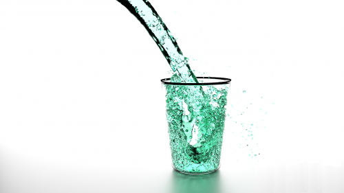 liquid water clean