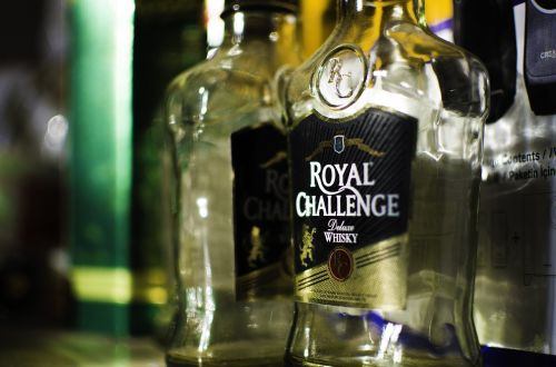 liquor whiskey bottle