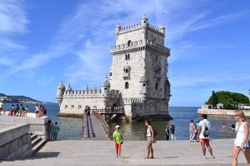 lisbon belém tower old