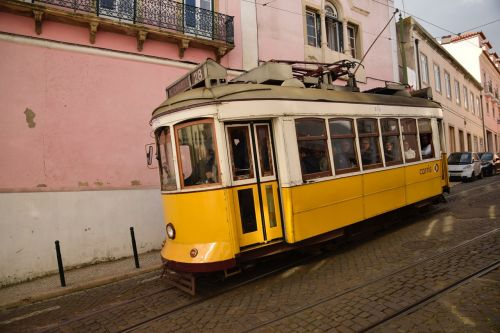 lisbon travel yellow