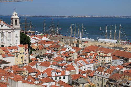 lisbonas,miestas,portugal,architektūra,pastatas,architektūra,Tagus upė
