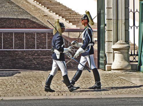 lisbon portugal guard