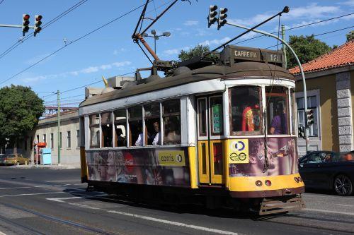 lisbon lisboa tram