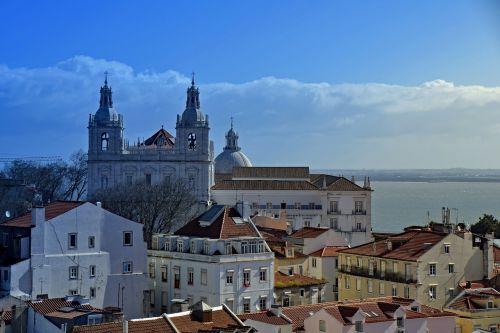 lisbon portugal castle of sao jorge
