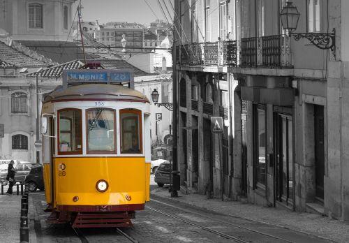 lisbon tram historically